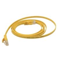 六类千兆网络跳线-黄色塑料头